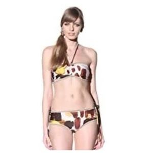 Chris Benz Halter Bikini Two Pieces Swimsuits